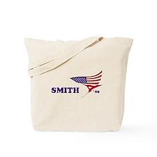 Christine Smith 08 flag Tote Bag