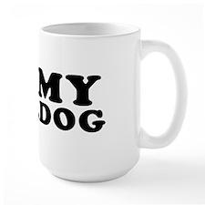 I (Heart) My Bulldog Mug