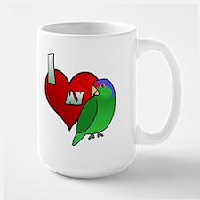 Love Lilac Crowned Amazon Mug