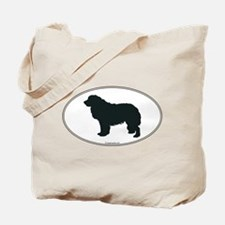 Leonberger Silhouette Tote Bag