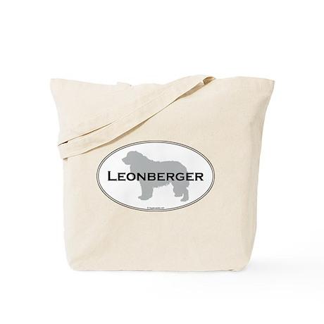 Leonberger Oval Tote Bag