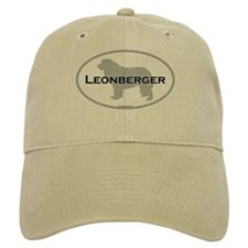 Leonberger Oval Baseball Cap