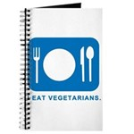 I Eat Vegetarians Journal
