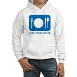 I Eat Vegetarians Hooded Sweatshirt