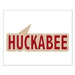 I say Vote Mike Huckabee Red Small Poster