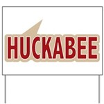 I say Vote Mike Huckabee Red Yard Sign