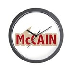 I say Vote John McCain Red Wall Clock