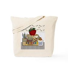 Cute School Teacher Tote Bag