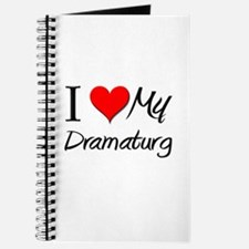 I Heart My Dramaturg Journal