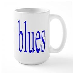 340.blues.. Large Mug