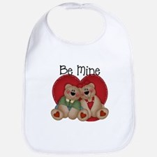 Be Mine Bear Couple Bib