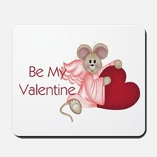 Mouse with a Heart Mousepad