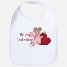Mouse with a Heart Bib