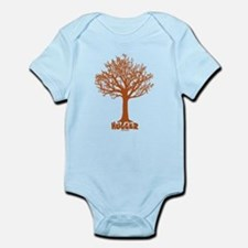 TREE hugger (red) Infant Bodysuit