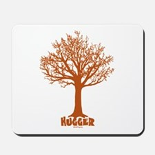 TREE hugger (red) Mousepad