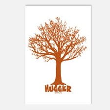 TREE hugger (red) Postcards (Package of 8)