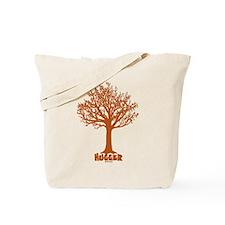 TREE hugger (red) Tote Bag
