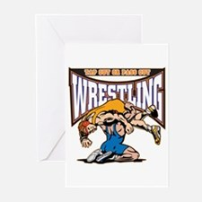Tap Out or Pass Out Wres Greeting Cards (Pk of 20)