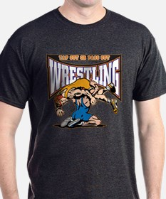 Tap Out or Pass Out Wrestling T-Shirt