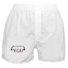 """""""Last Nerve"""" Boxer Shorts"""