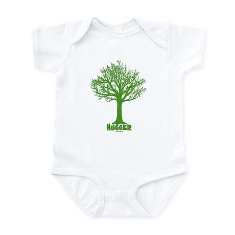 TREE hugger (green) Infant Bodysuit