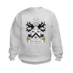 Monington Family Crest Kids Sweatshirt