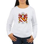 Milo Family Crest Women's Long Sleeve T-Shirt