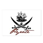 Elizabethan Pyrate Insignia Postcards (Package of