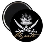 Elizabethan Pyrate Insignia Magnet