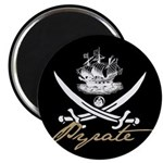 "Elizabethan Pyrate Insignia 2.25"" Magnet (100 pack"