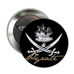 "Elizabethan Pyrate Insignia 2.25"" Button (100 pack"