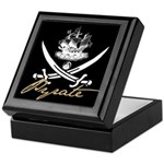 Elizabethan Pyrate Insignia Keepsake Box
