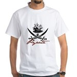 Elizabethan Pyrate Insignia White T-Shirt