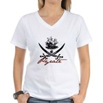 Elizabethan Pyrate Insignia Women's V-Neck T-Shirt