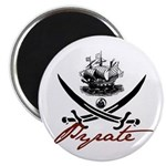 "Elizabethan Pyrate Insignia 2.25"" Magnet (10 pack)"