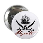 "Elizabethan Pyrate Insignia 2.25"" Button"