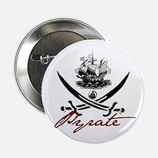 "Elizabethan Pyrate Insignia 2.25"" Button"