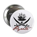 "Elizabethan Pyrate Insignia 2.25"" Button (10 pack)"