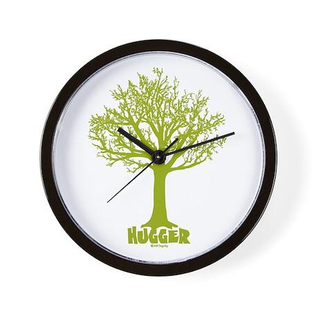 TREE hugger (light green) Wall Clock