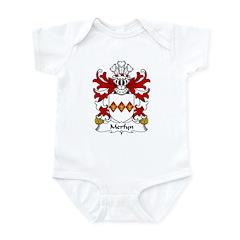 Merfyn Family Crest Infant Bodysuit
