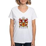 Mawddwy Family Crest Women's V-Neck T-Shirt