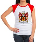 Mawddwy Family Crest Women's Cap Sleeve T-Shirt