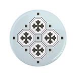 "Japanese Style Pattern Art 3.5"" Button"