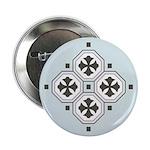 "Japanese Style Pattern Art 2.25"" Button"
