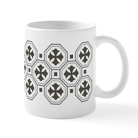 Japanese Style Pattern Art Ceramic Coffee Mug