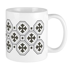 Japanese Style Pattern Art Ceramic Coffee Mug