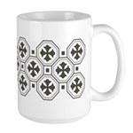 Japanese Style Pattern Art Large Mug (15 oz)