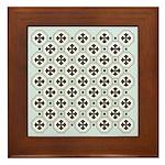 Japanese Style Pattern Art Framed Tile