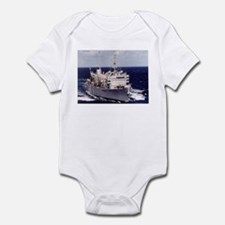USS Camden Ship's Image Infant Bodysuit