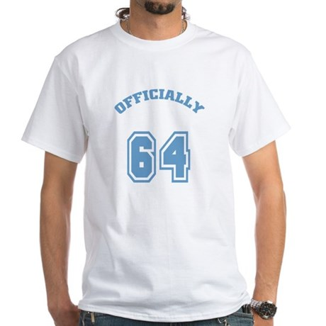 Officially 64 White T-Shirt